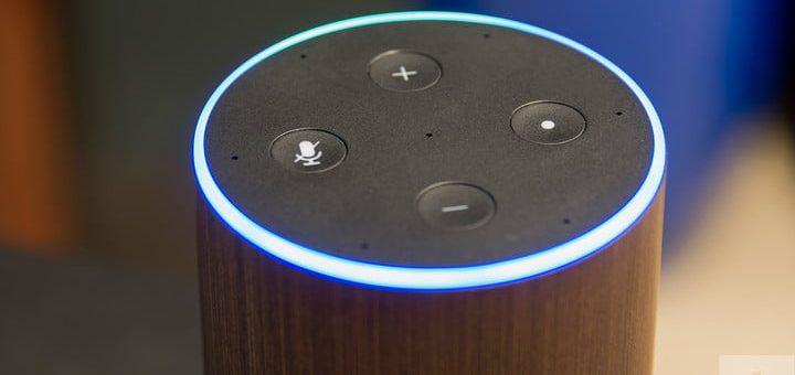 Amazon Echo 2017 review top lit